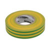 Electrical Insulation Tape Green/Yellow 19mm x 33m