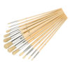 Artists Paint Brush Set Round Tipped 12pce