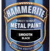 Hammerite Smooth Paint Black 2.5 Litre